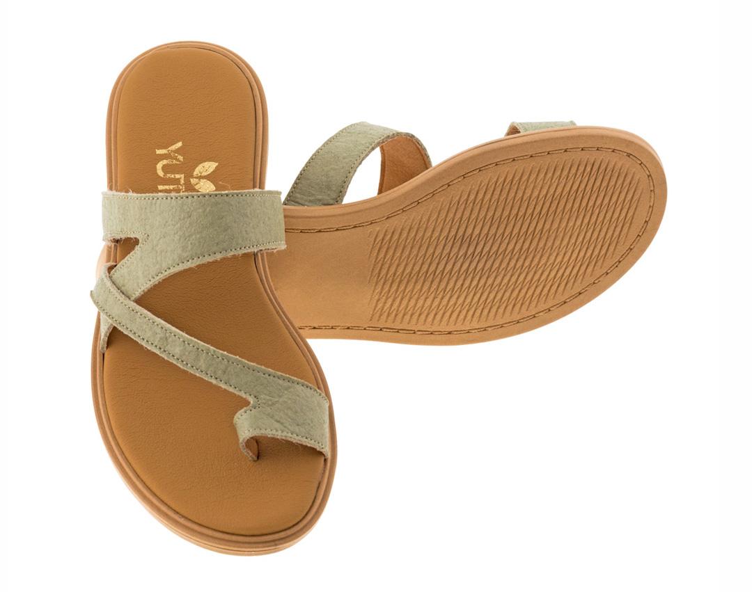 BLUEBELL PINATEX ΛΑΔΙ - eco vegan handmade sandal