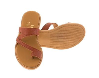 BLUEBELL PINATEX ΤΑΜΠΑ - eco vegan handmade sandal