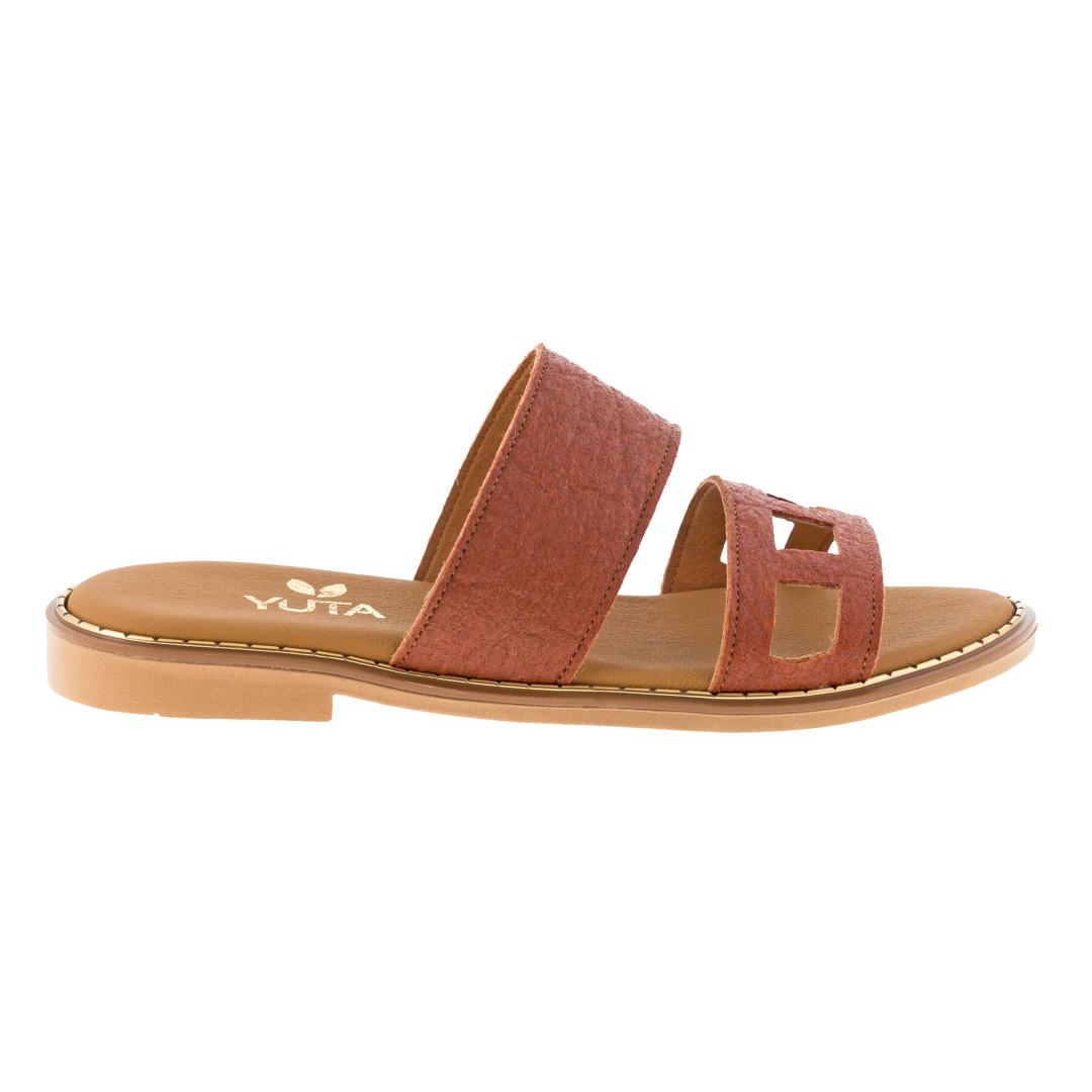 LILY PINATEX ΤΑΜΠΑ - eco vegan handmade sandal