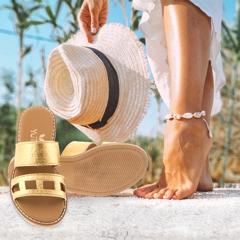 yuta vegan eco handmade sandals - Βιώσιμη Μόδα