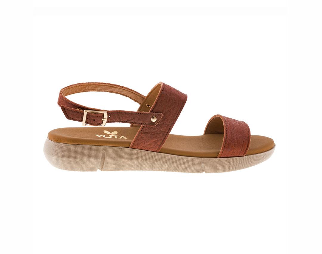 ALDER PINATEX ΤΑΜΠΑ πέδιλο- eco vegan handmade sandal