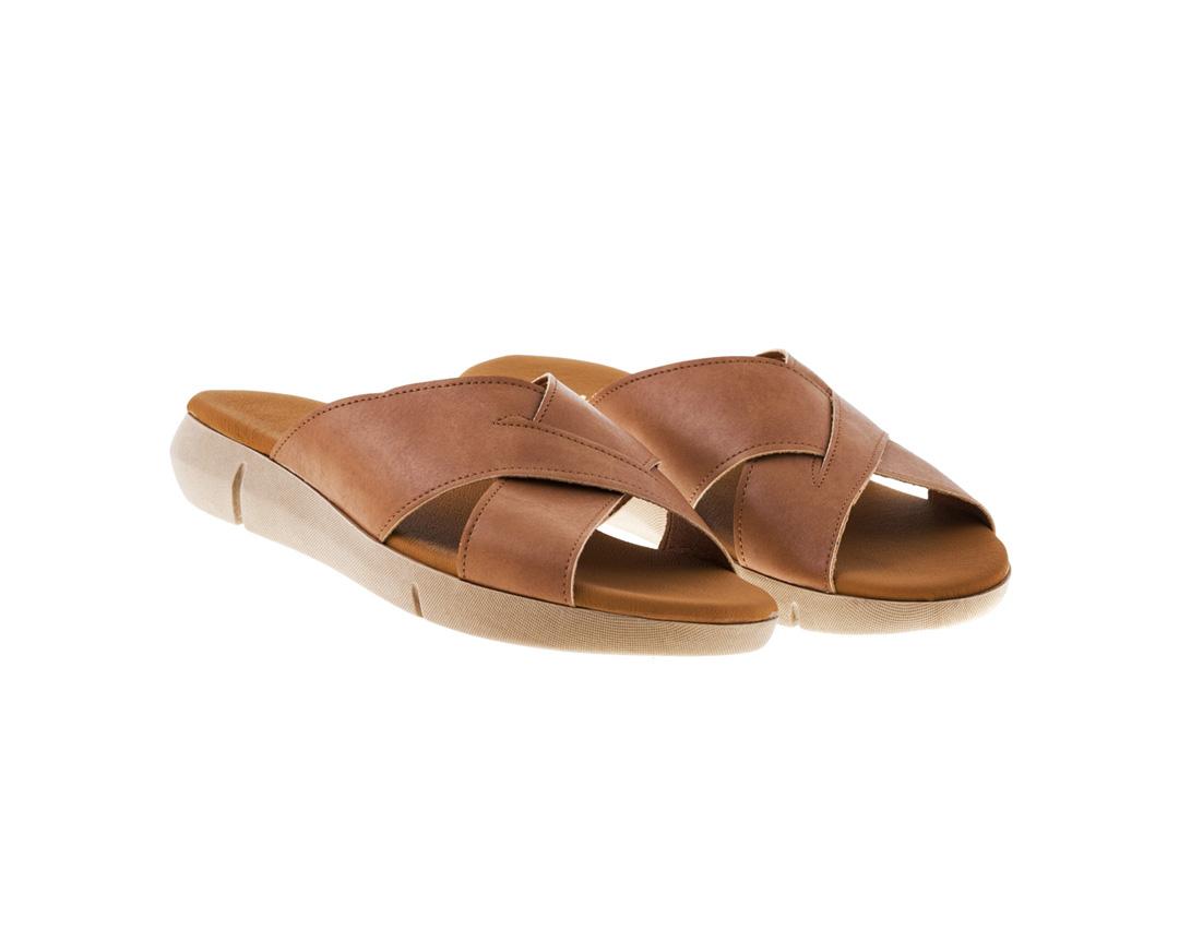 POPPY ΤΑΜΠΑ πέδιλο- eco vegan handmade sandal