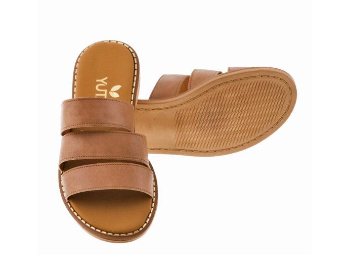 ROSE ΤΑΜΠΑ πέδιλο- eco vegan handmade sandal