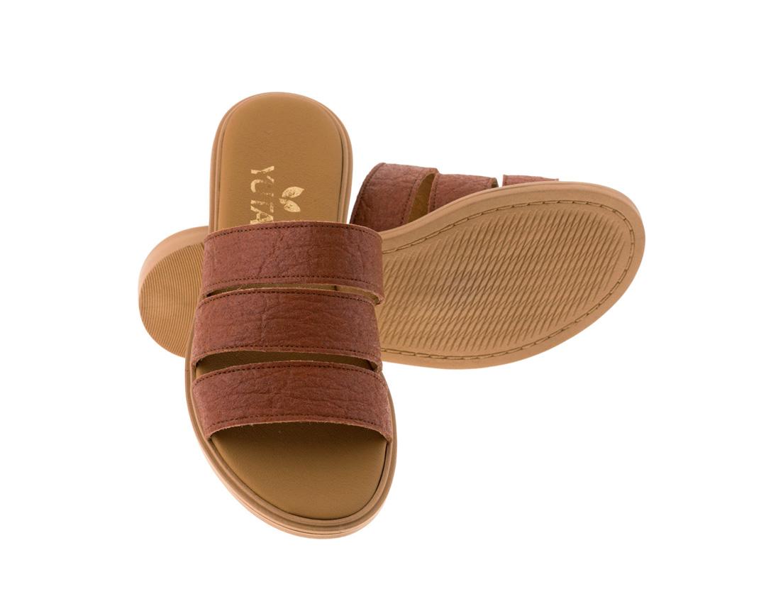 ROSE PINATEX ΤΑΜΠΑ πέδιλο- eco vegan handmade sandal