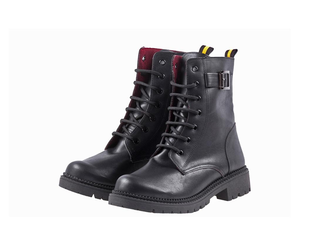 ALBI ΜΑΥΡΟ Vegan Leather παπουτσια, Γυναικεία