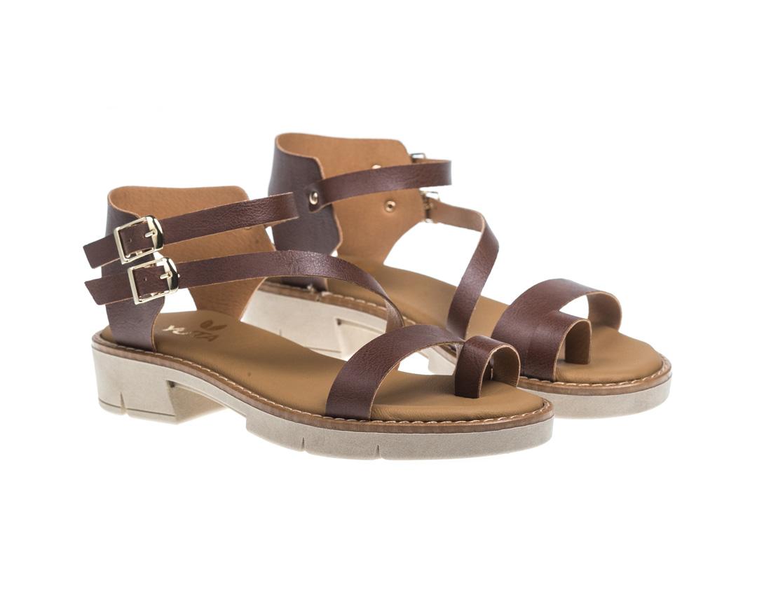 VIBE ΚΑΜΕΛ Vegan Leather παπουτσια, Γυναικεία